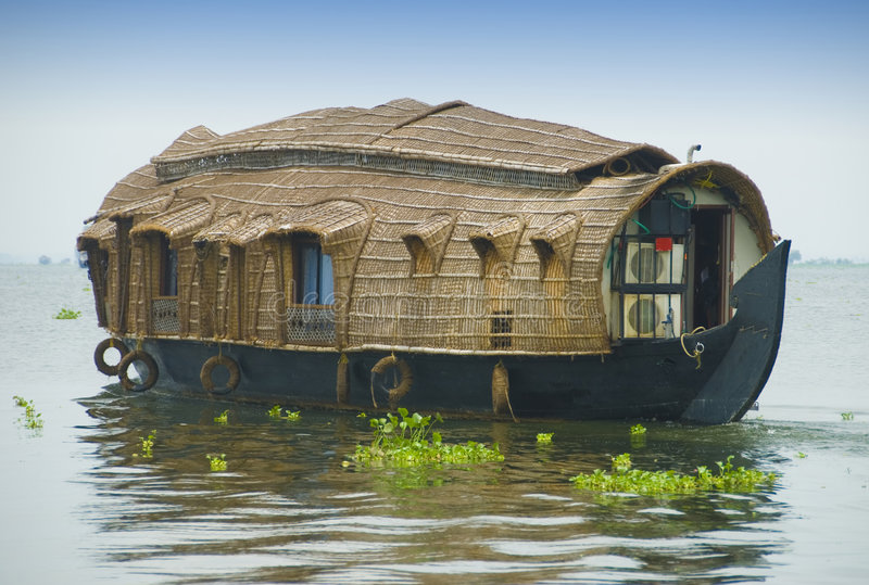 Houseboat stock photos