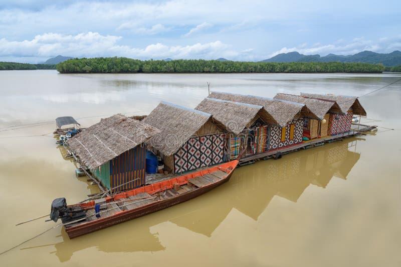 houseboat stock foto's