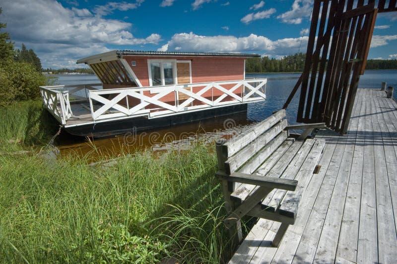 houseboat ridged στοκ φωτογραφία με δικαίωμα ελεύθερης χρήσης
