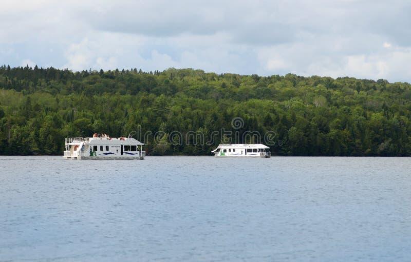 houseboats fotografia de stock