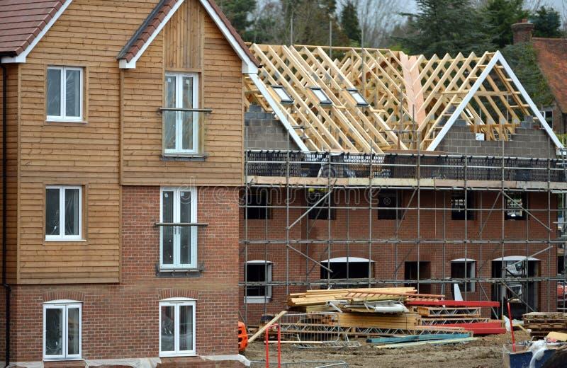 Housebuilding stock photography