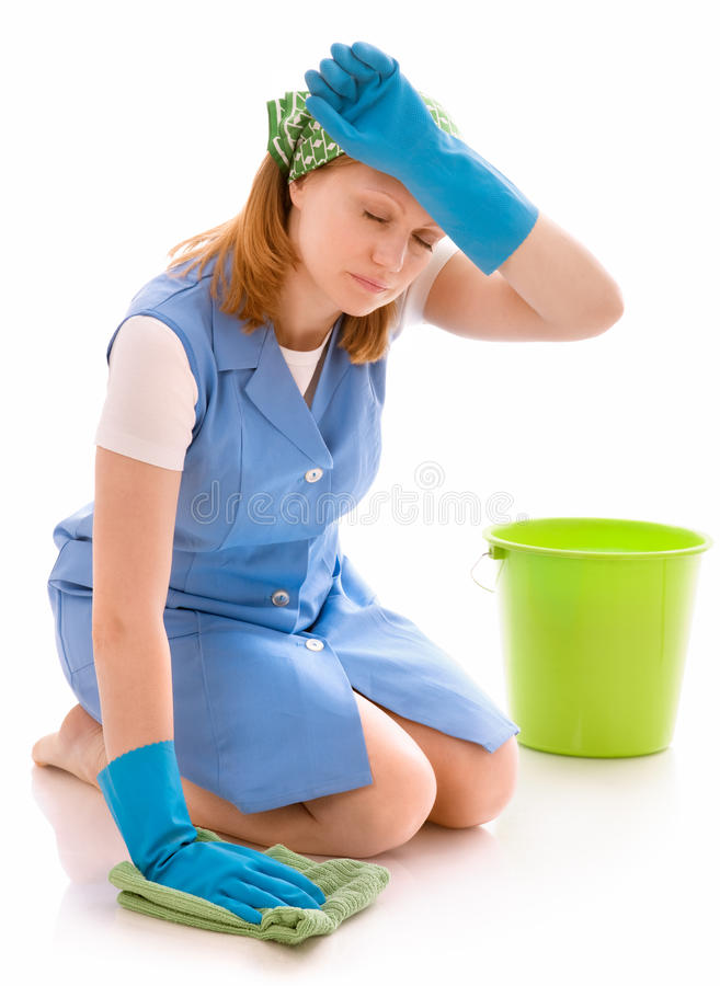 Housecleaning royalty free stock image