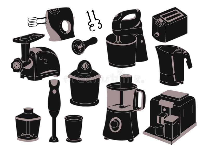 Download Household Appliances Royalty Free Stock Images - Image: 24604219