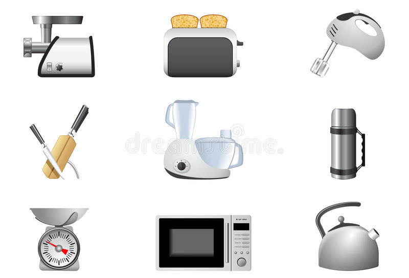 Download Household Appliances | Kitchen Stock Vector - Image: 13200904