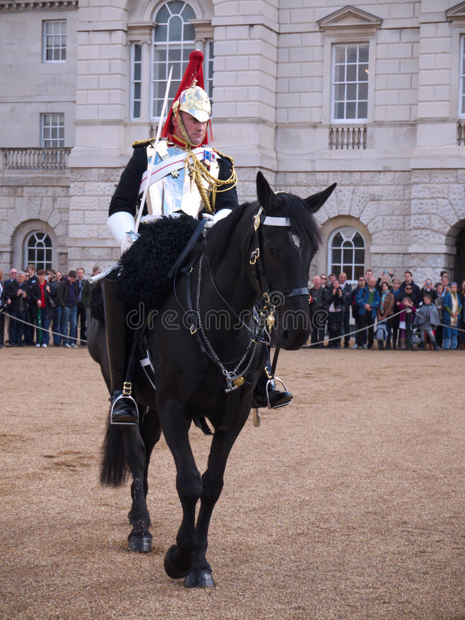Household Cavalry at Horse Guards Parade