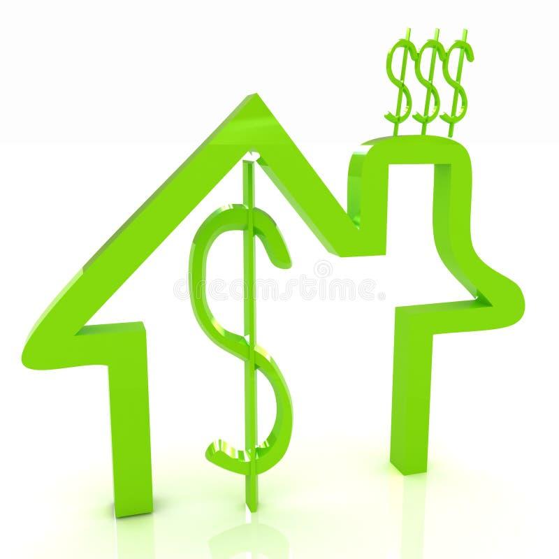 Household Expenditure icon stock illustration