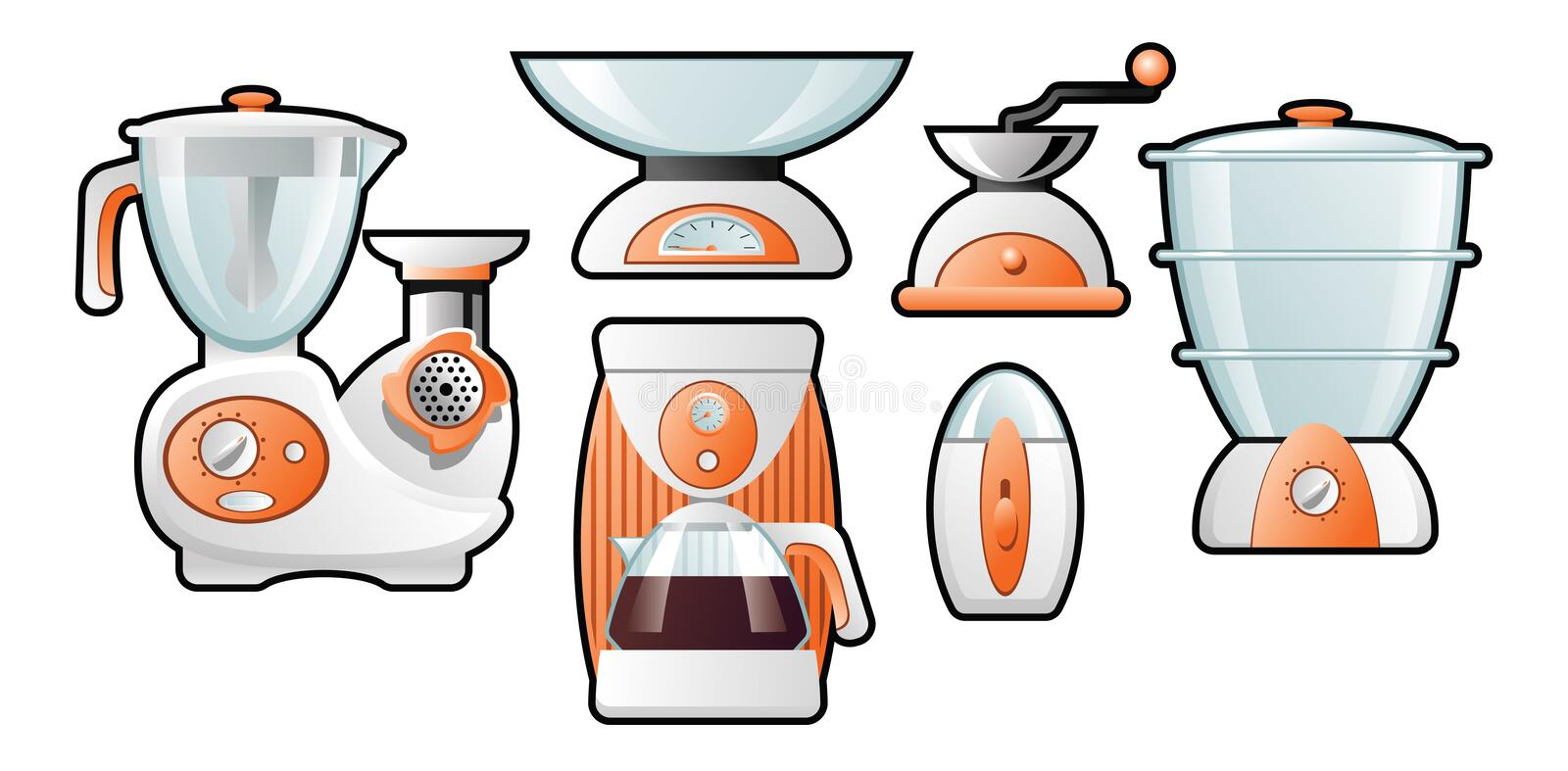 Download Household goods stock vector. Image of object, household - 20418999