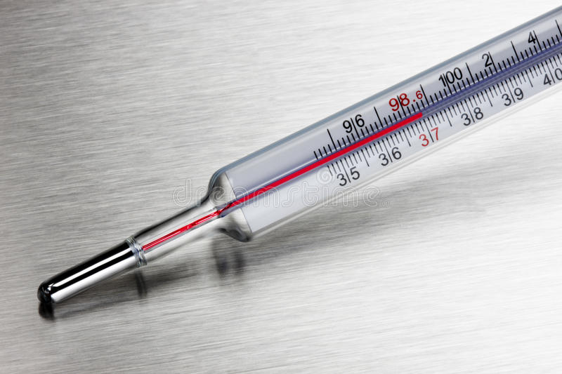 Household medical Thermometer royalty free stock photography