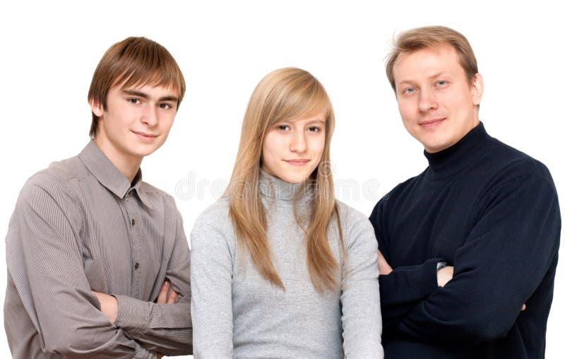 Household portrait royalty free stock photo