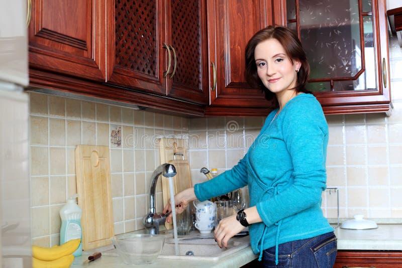 Housekeeper stock photography