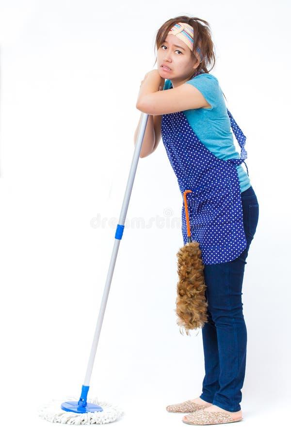 housekeeper photographie stock