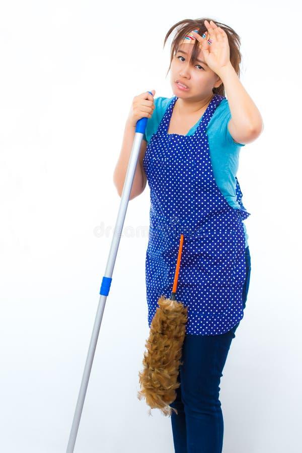housekeeper photographie stock libre de droits