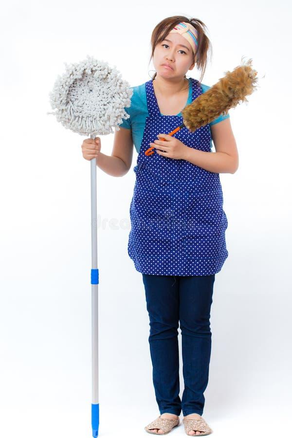 housekeeper photo stock