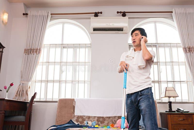 housekeeper photo libre de droits