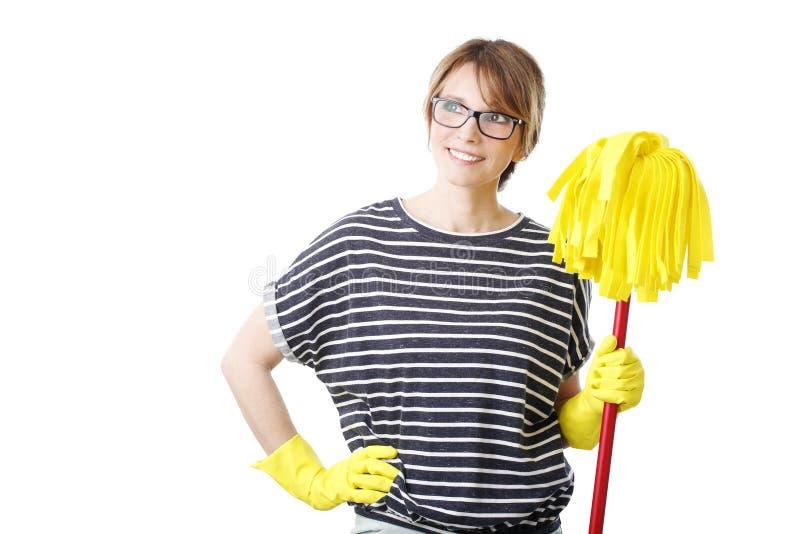 housekeeper images libres de droits