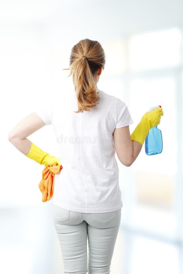 housekeeper photos libres de droits
