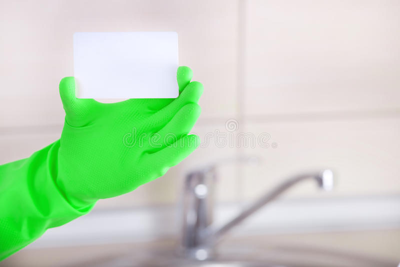 Housekeepers blank business card stock photo image of download housekeepers blank business card stock photo image of advertisement housekeeping 64672920 reheart