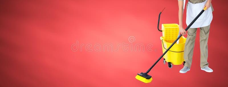 housemaid obraz stock