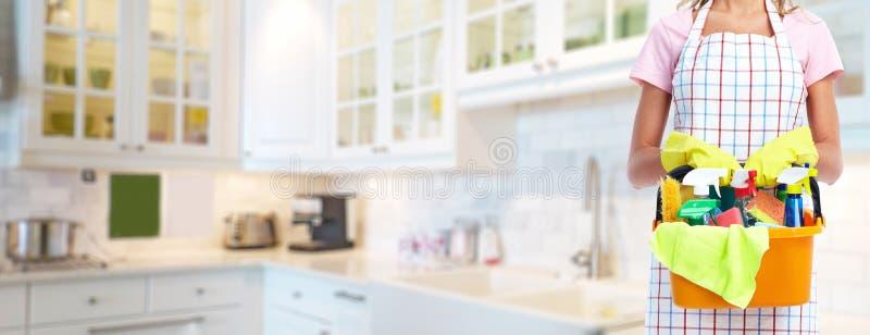 housemaid fotografie stock libere da diritti