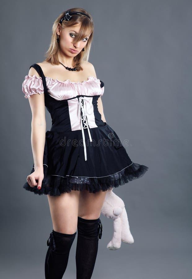 Download Housemaid atrativo novo foto de stock. Imagem de slim - 12807124