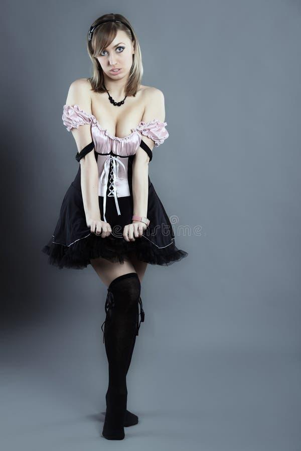 Download Housemaid atrativo novo foto de stock. Imagem de glamour - 12807164