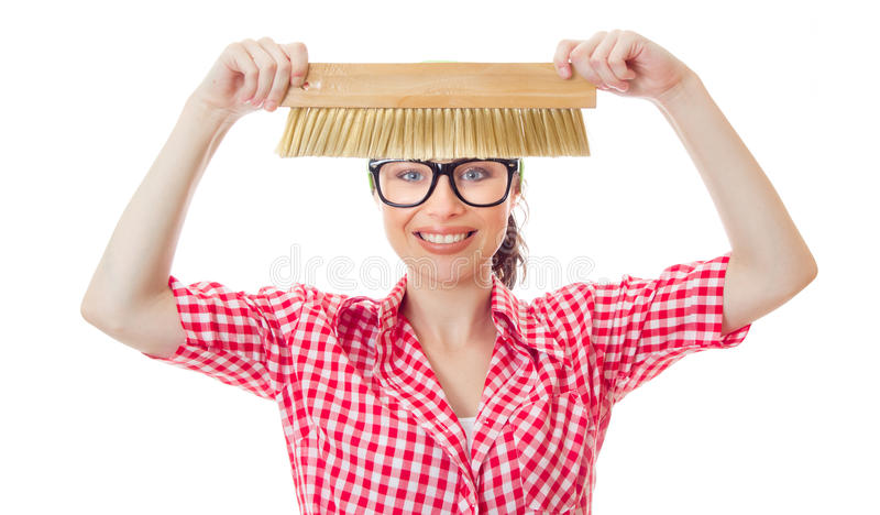 Housepainter stock image
