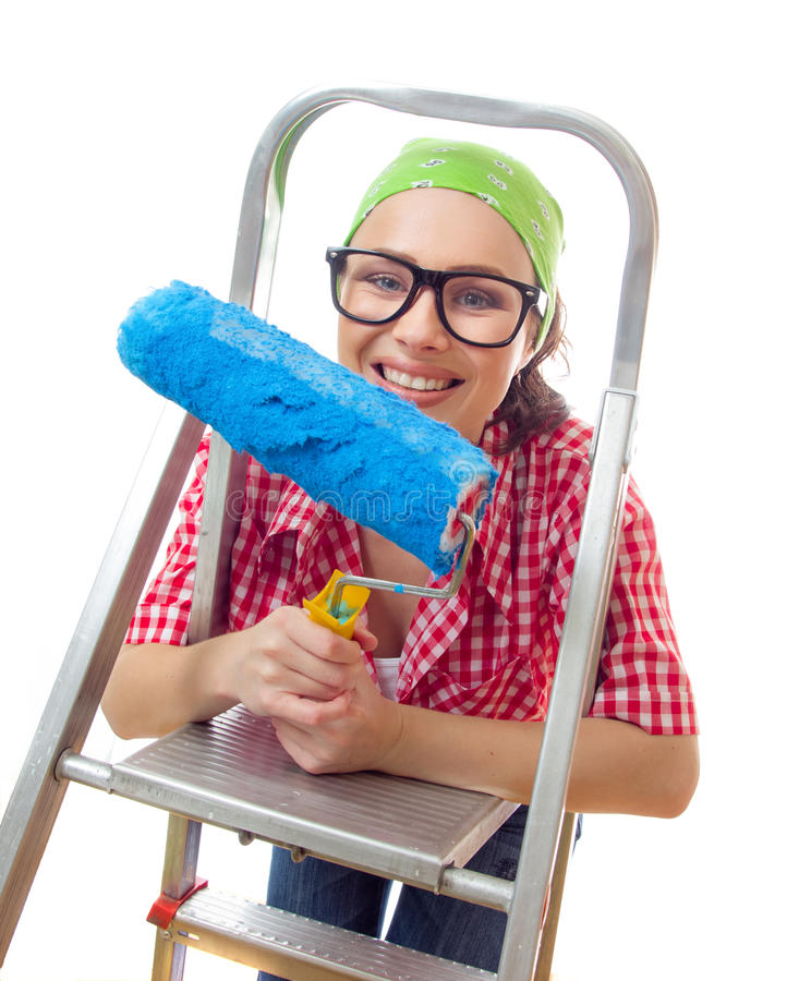 Housepainter stock images