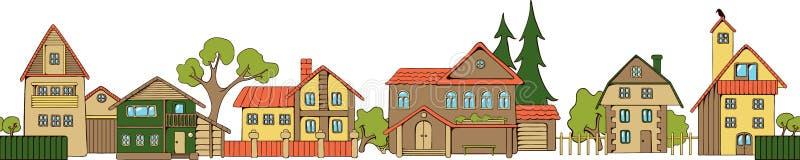 Houses stock illustration