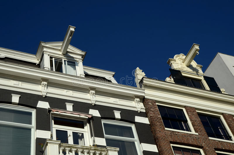 Houses In Amsterdam Stock Photography