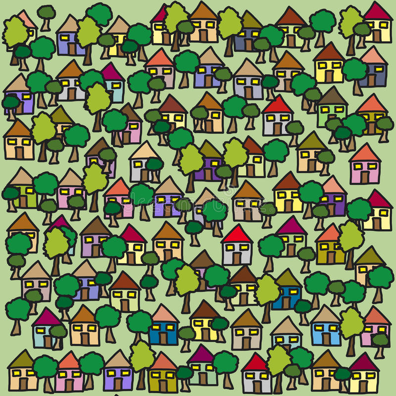 Houses background royalty free stock images