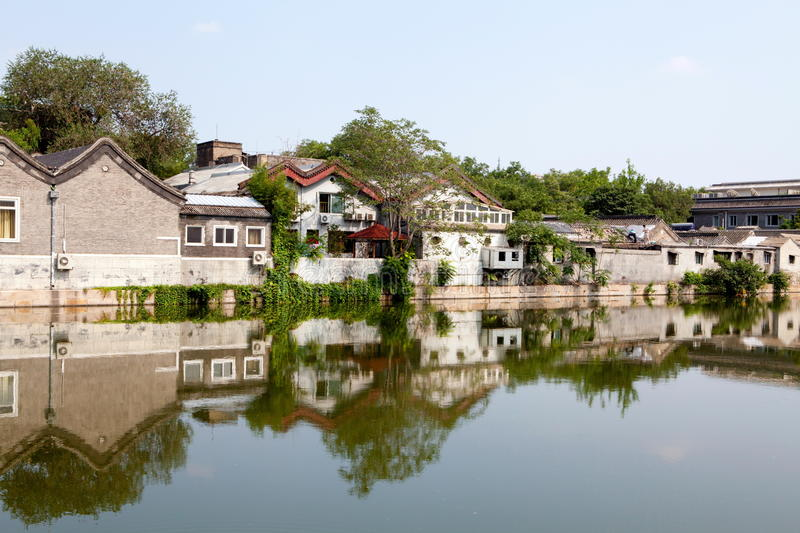 Download Houses in Beijing stock image. Image of apartment, house - 24046387