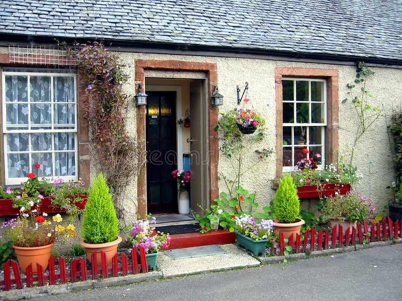 houses bostadslantligt fotografering för bildbyråer