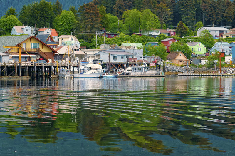 Download Houses And Businesses, Sitka Alaska Stock Photo - Image of sitka, developed: 28438992