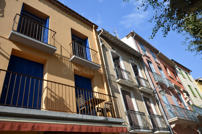 Street In Collioure In France Stock Photo Image Of