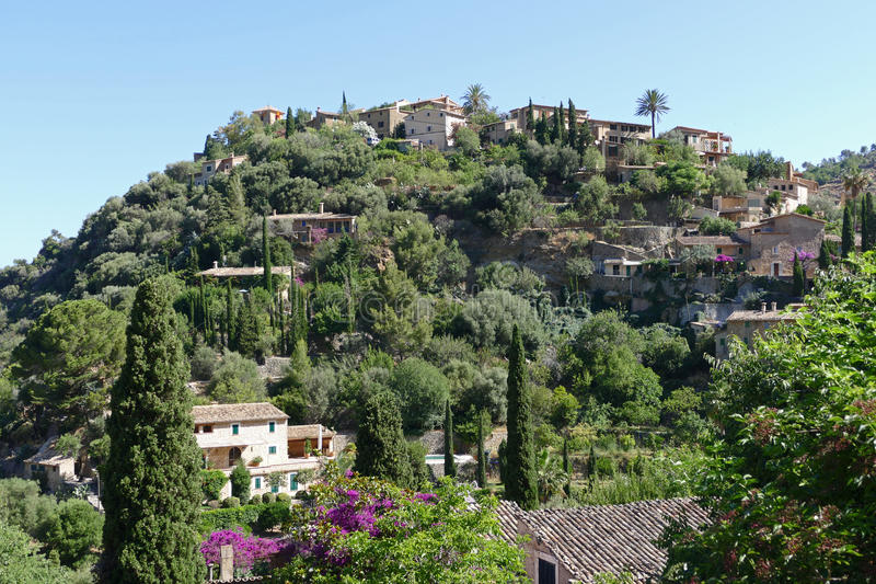 Houses of deia stock images