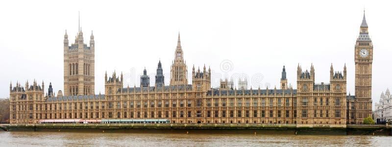 houses den london parlamentet arkivbilder