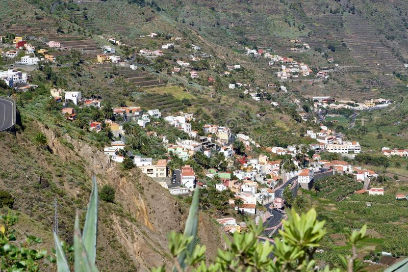 Houses of El Retamal stock image