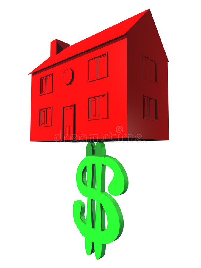 Houses Are Expensive royalty free stock photo