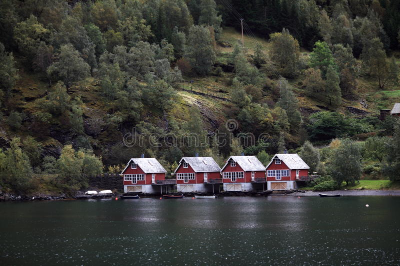 Download Houses of flam, Norway stock image. Image of forest, house - 11201761