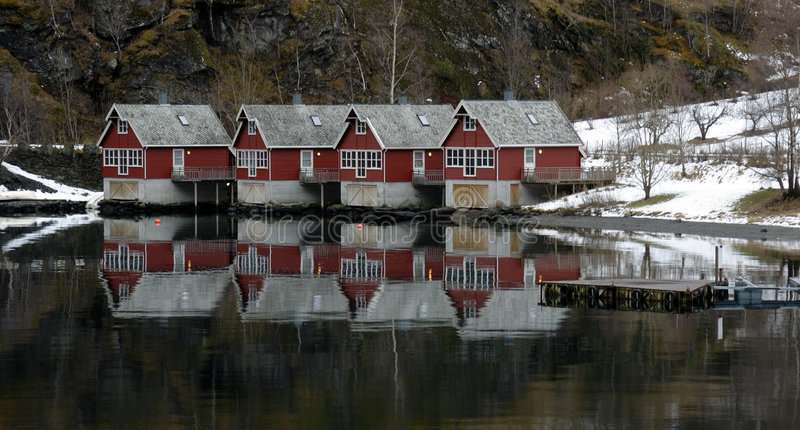 Download Houses of Flam, Norway stock photo. Image of city, architecture - 4820456