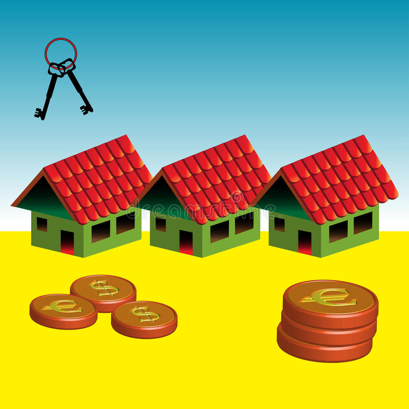 Free Houses For Sale Stock Photography - 12970972