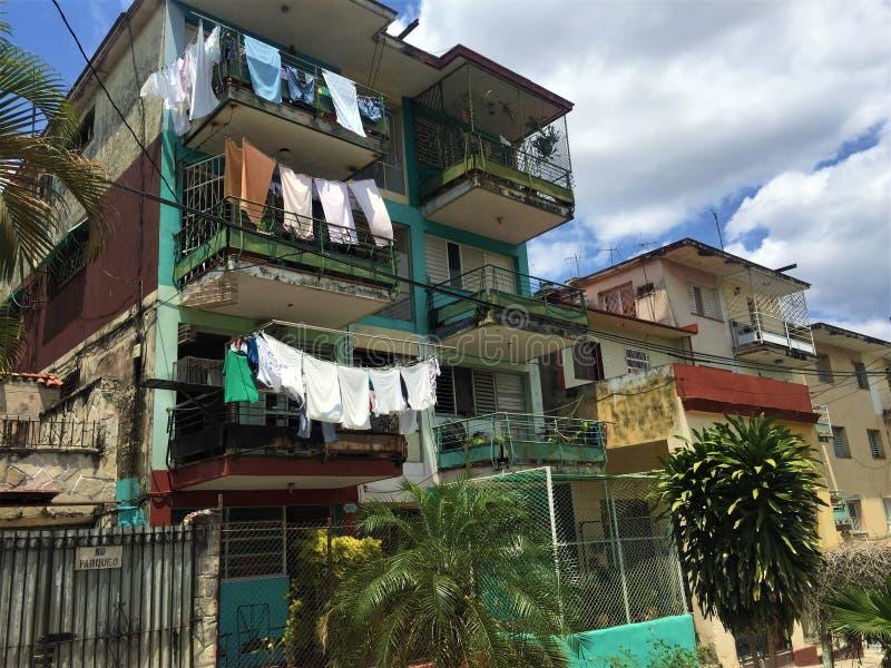 Houses in Havana royalty free stock image