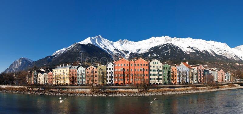 Download Houses At Inn Riverside, Innsbruck, Austria Stock Photo - Image: 11478860