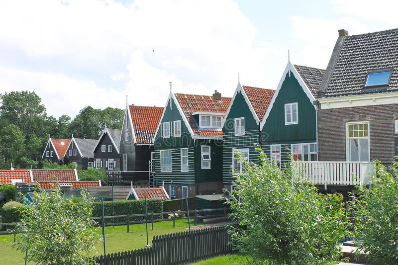 Download Houses On The Island Of Marken. Stock Photo - Image: 26092602