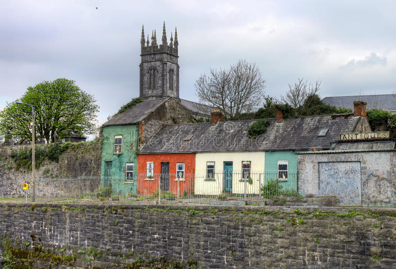 Download Houses In Limerick City - Ireland. Stock Image - Image: 23835401