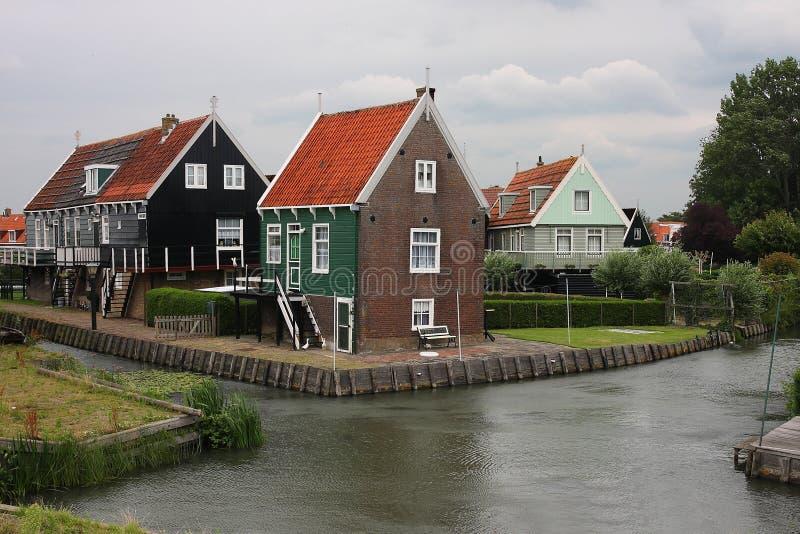 Houses in Marken, Holland