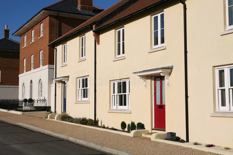 houses nytt arkivbilder