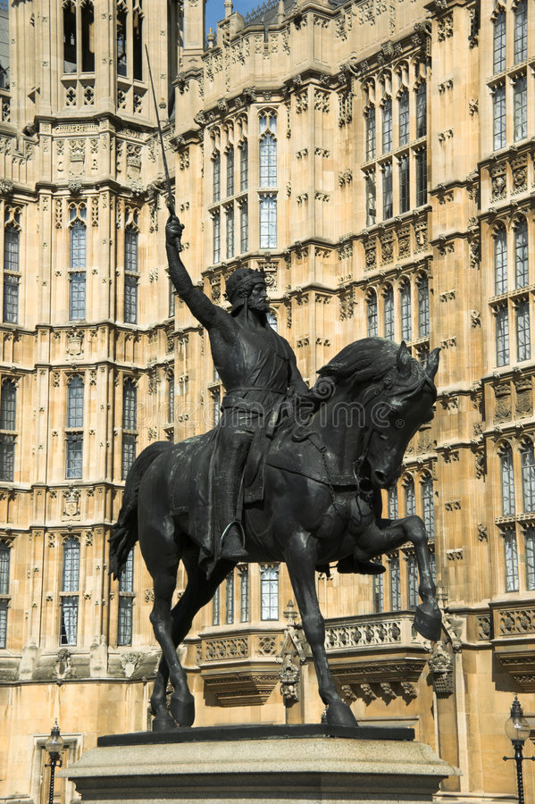Free Houses Of Parliament Richard 1 Royalty Free Stock Photos - 3147128