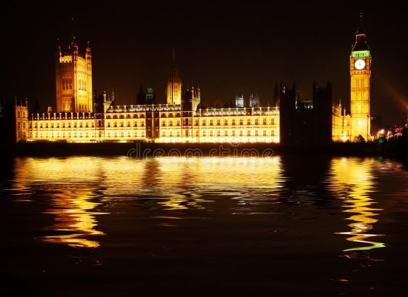 houses parlamentet westminster royaltyfri bild