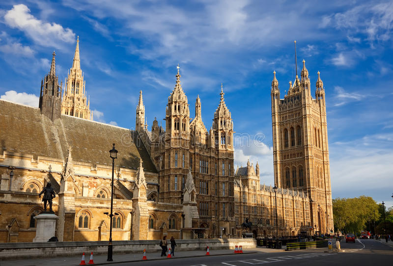 Download Houses of Parliament stock image. Image of sightseeing - 12552923